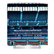 The Stands At Oriole Park Shower Curtain
