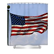 The Star Spangled Banner Shower Curtain