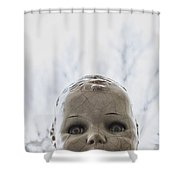 The Stare Shower Curtain