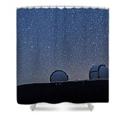 The Stars Above Keck Shower Curtain