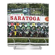The Start At Saratoga Shower Curtain