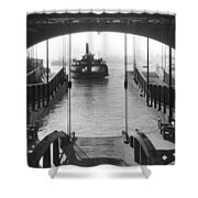 The Staten Island Ferry Shower Curtain