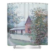 The Stationmaster's Cottage Shower Curtain
