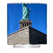 The Statue Shower Curtain