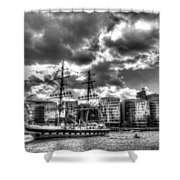 The Stavros N Niarchos London Shower Curtain
