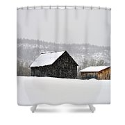 The Steele Line Shower Curtain