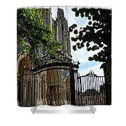The Steeple And The Gate Shower Curtain