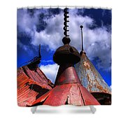 The Steeples Shower Curtain