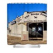 The Stone Pony Asbury Park New Jersey Shower Curtain