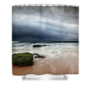 The Storm Shower Curtain by Jorge Maia