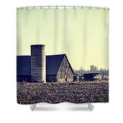 The Story Shower Curtain