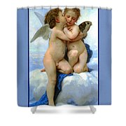 The Story Of Cupid And Psyche Shower Curtain