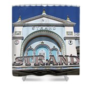 The Strand Key West Shower Curtain