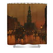 The Strand - London 1899 Shower Curtain