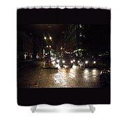 The Strand London Shower Curtain