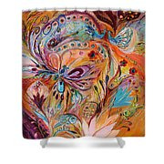 The Stream Of Life Part II Shower Curtain