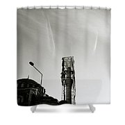 The Structure Shower Curtain