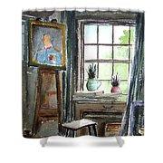 The Studio Of Juliet Pannett Shower Curtain
