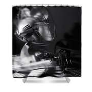 The Summer Wind Shower Curtain