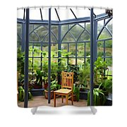The Sun Room Shower Curtain