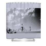 A Surreal Day Shower Curtain