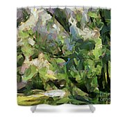 The Swamp - Wetlands Shower Curtain
