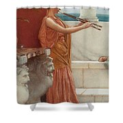 The Sweet Siesta Of A Summer Day Detail Shower Curtain