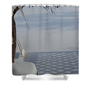 The Swing Shower Curtain