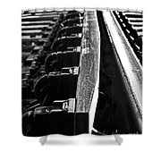 The Switch Bw Shower Curtain