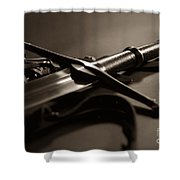 The Sword Of Aragorn 2 Shower Curtain