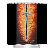 The Sword Of The Spirit Shower Curtain