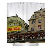 The Szegedi Halaszcsarda Shower Curtain