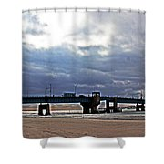 The T1 Bridge Shower Curtain