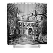 The Taft House - Brown University 1958 Shower Curtain