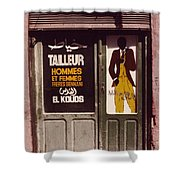 The Tailor Shower Curtain