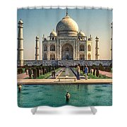 The Taj Maha Shower Curtain