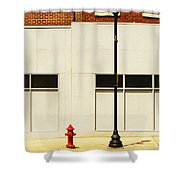 The Tall And Short Of It Shower Curtain