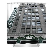 The Tampa Theatre Shower Curtain