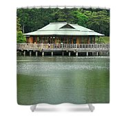 The Tea House Shower Curtain
