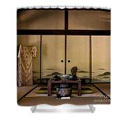 The Tea Room Shower Curtain