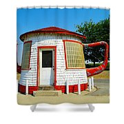 The Teapot Dome  Shower Curtain by Jeff Swan