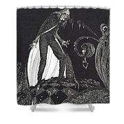 The Tell Tale Heart Shower Curtain