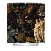 The Temptation Of Saint Anthony Shower Curtain