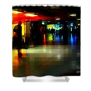 The Terminal - Train Stations Of New York Shower Curtain