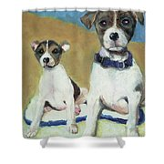 The Terriers Shower Curtain