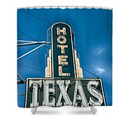 The Texas Hotel Shower Curtain