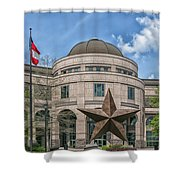 The Texas State History Museum Shower Curtain