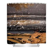 The Texture Shower Curtain