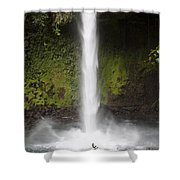 The Texture Of Nature Shower Curtain