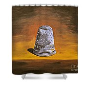 The Thimble Shower Curtain